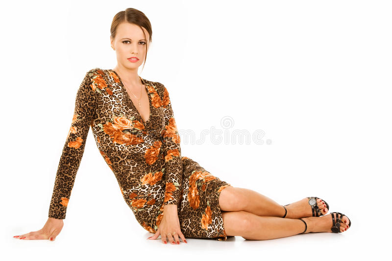 Fashionable teenager stock image