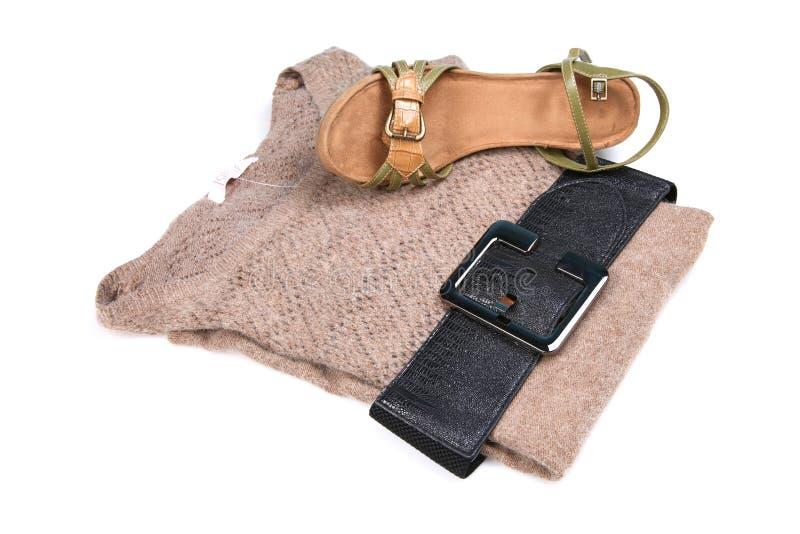 Fashionable top and sandle