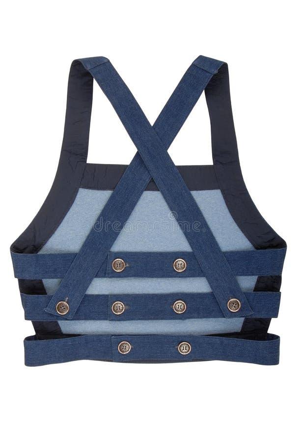 Fashionable waistcoat stock images