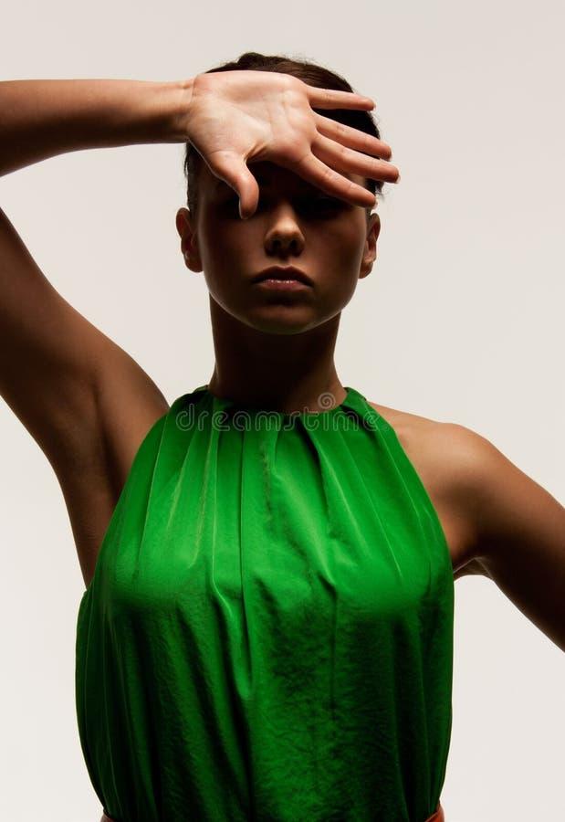 Fashionable woman royalty free stock image