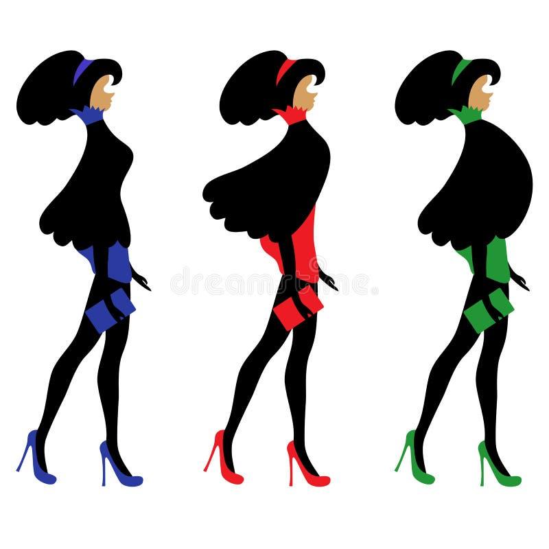 Fashionable Women Stock Photo