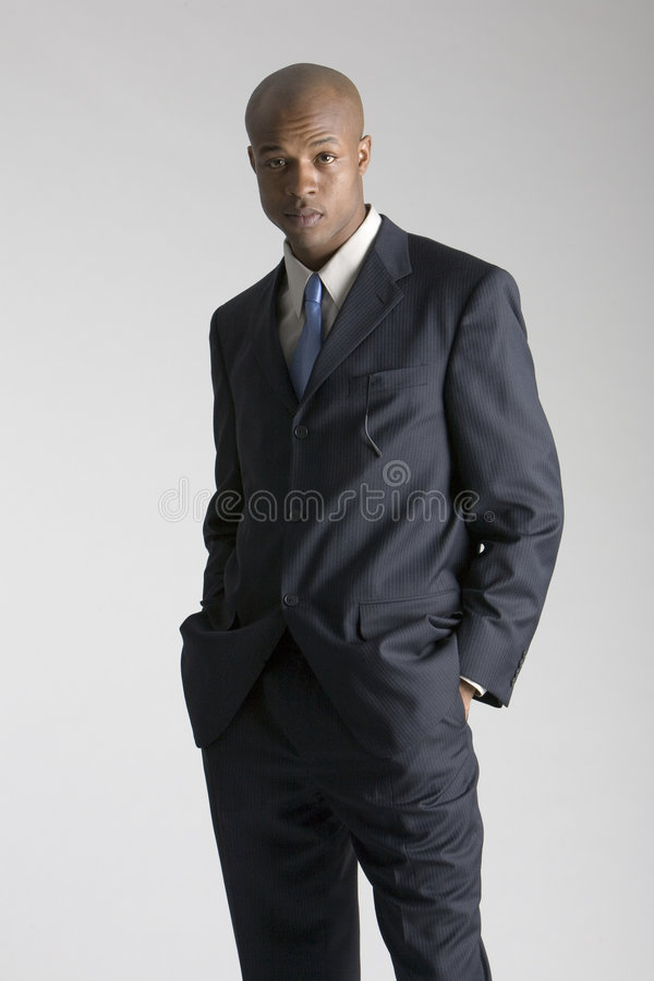 Fashionable young man stock photography