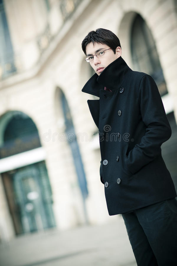 Download Fashionable Young Man Outdoors Stock Image - Image: 16685183