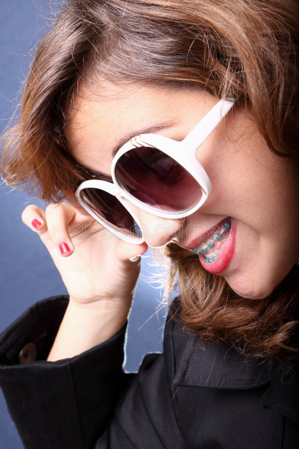 Fashionable Young Teen Royalty Free Stock Photo