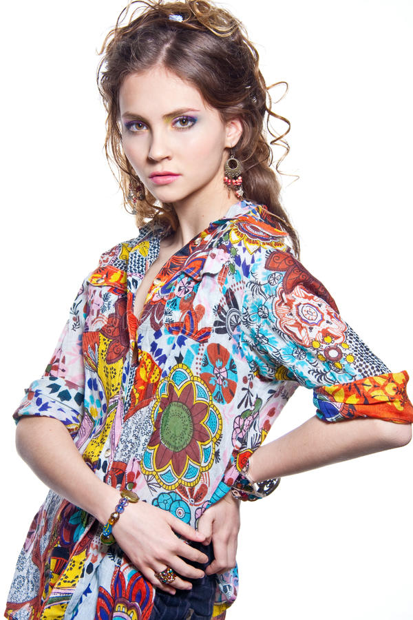 Download Fashionable Young Woman Royalty Free Stock Photos - Image: 23186468