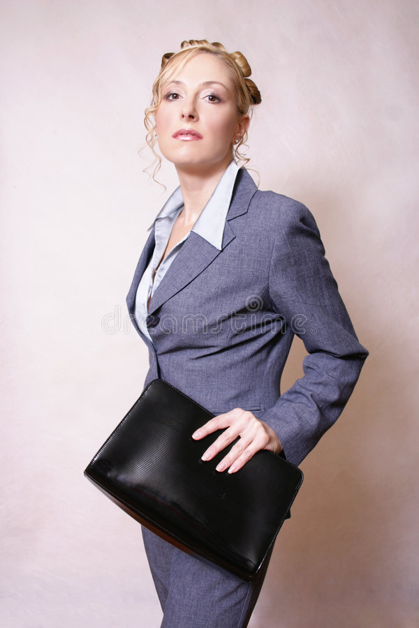 Fashon business. Confident stylised busiensswoman Peruse more of my people at work stock photos