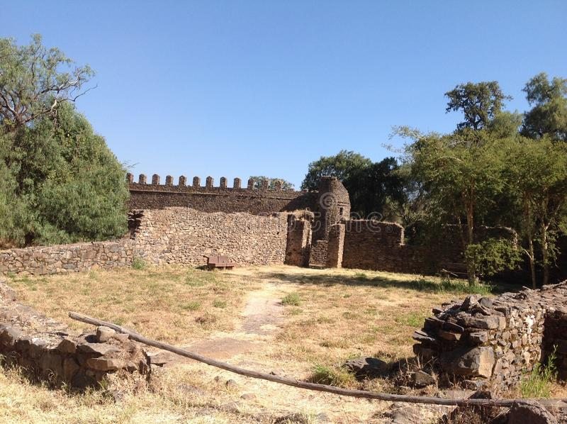 Fasil Gondar. In the 16th and 17th centuries, the fortress-city of Fasil Ghebbi was the residence of the Ethiopian emperor Fasilides and his successors stock images