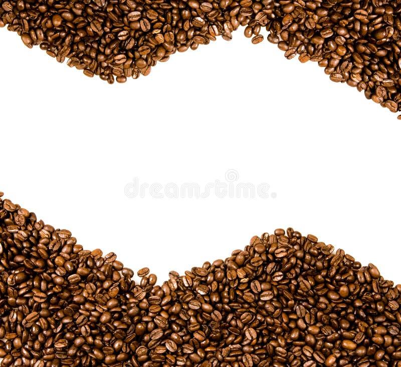 fasoli kawy kopii przestrzeń obraz royalty free