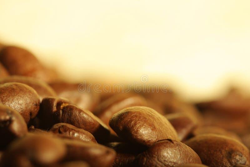 fasoli kawy stos zdjęcia royalty free
