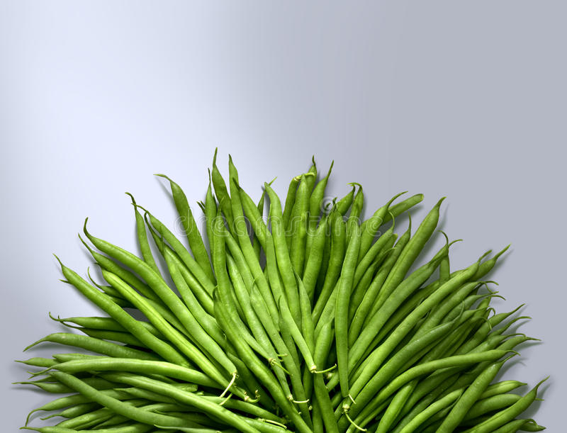 fasoli zieleń fotografia stock