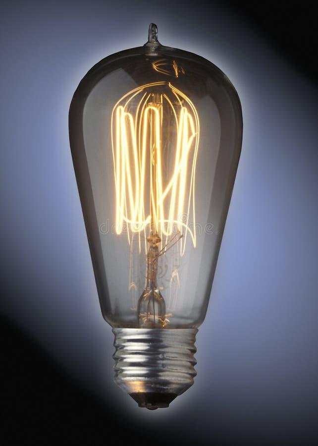 fasonujący stary światła żarówki fotografia royalty free