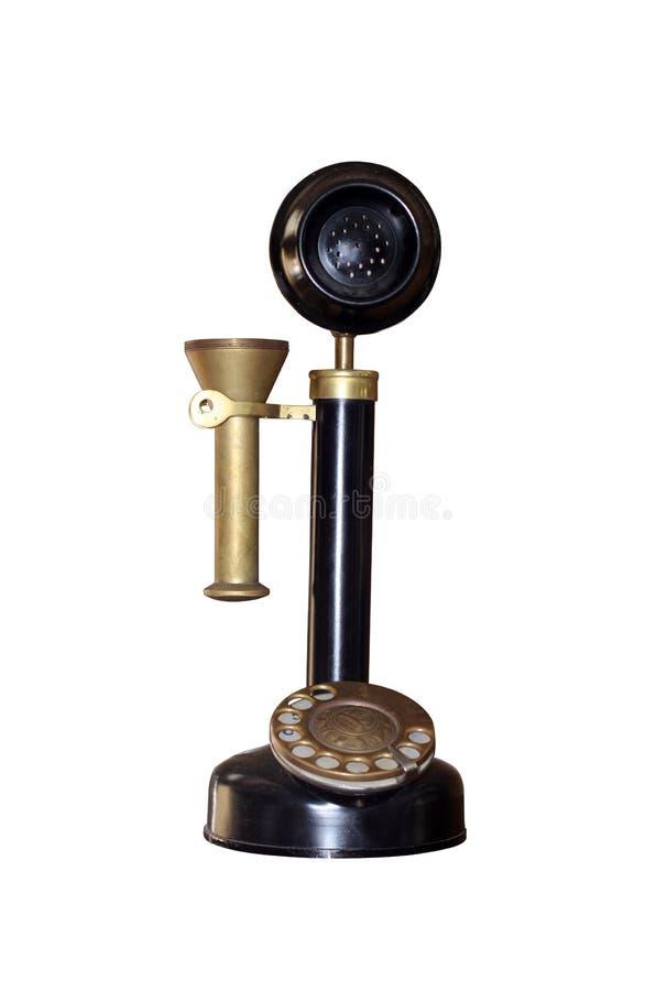 fasonujący stary telefon zdjęcie stock