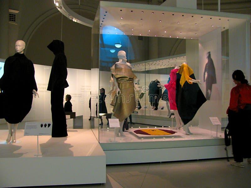Fasonuje historii wystawę przy Wiktoria i Albert muzeum w Londyn fotografia royalty free
