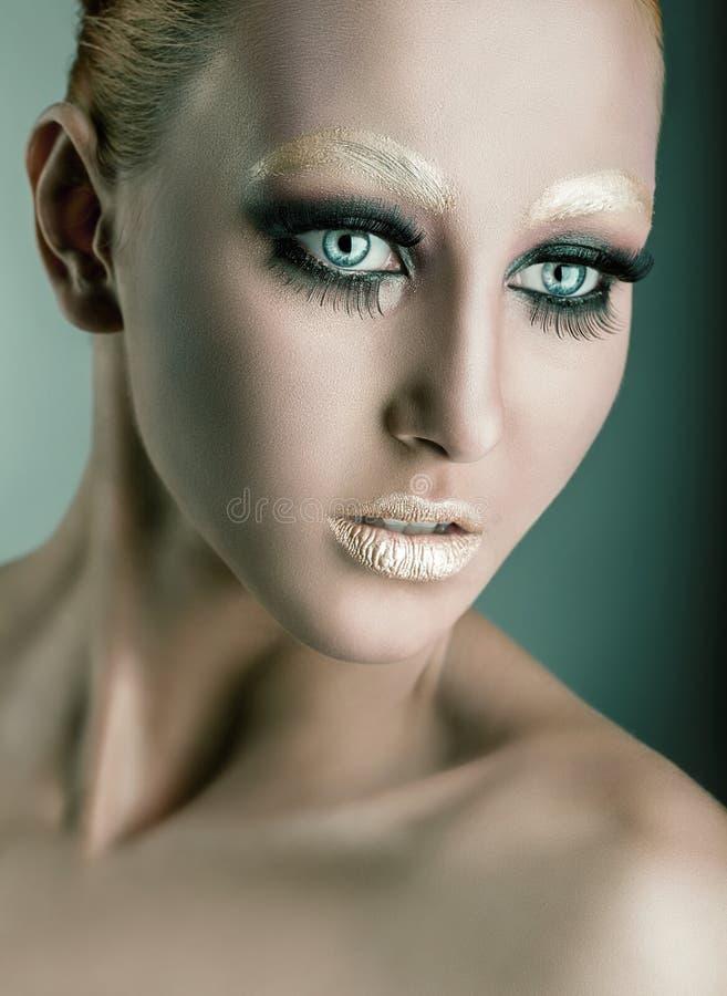 fasonuje makeup obraz royalty free