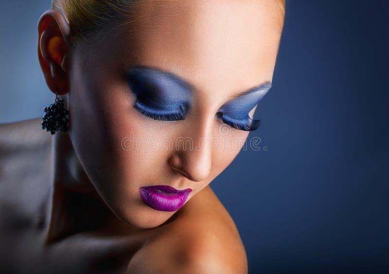 fasonuje makeup zdjęcia royalty free