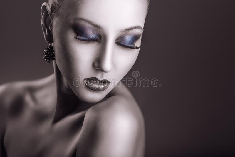 fasonuje makeup fotografia royalty free