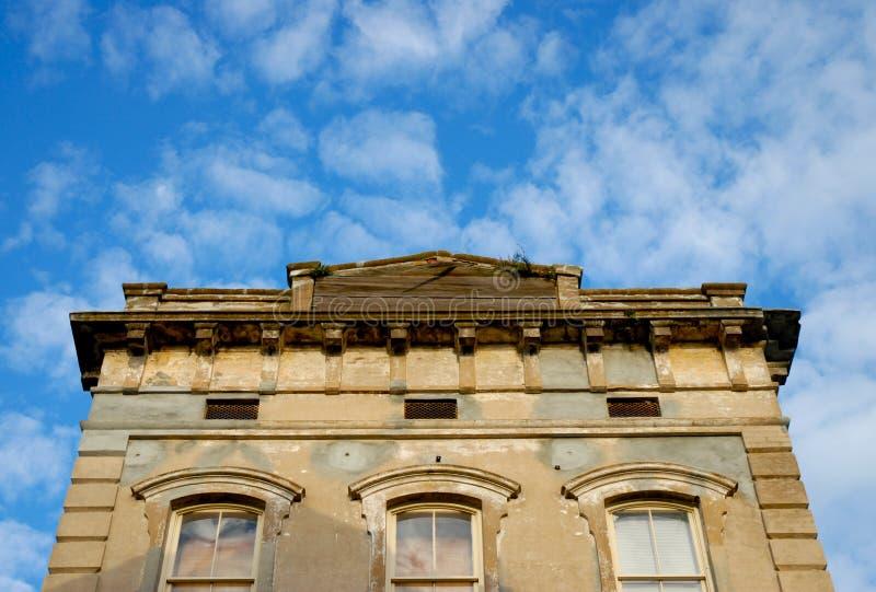 Fassade alten Gebäudes 2 lizenzfreie stockfotografie