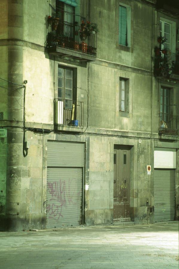 fassade de Barcelone image libre de droits