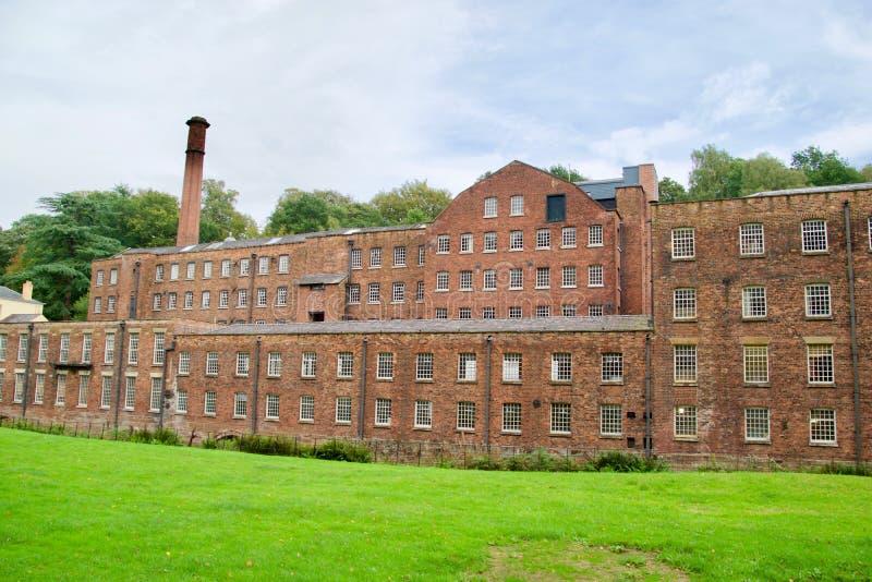 Fassade der Mühle stockbilder