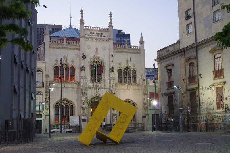 Fassade des königlichen portugiesischen Büros lizenzfreie stockfotos