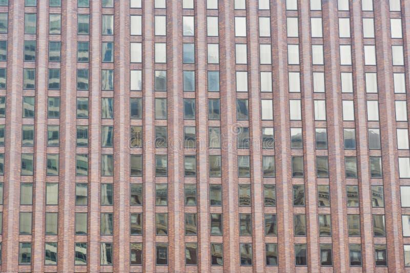 Fassade des modernen Bürohauses Detail des modernen Wolkenkratzers Philadelphia, Pennsylvania, USA lizenzfreies stockfoto