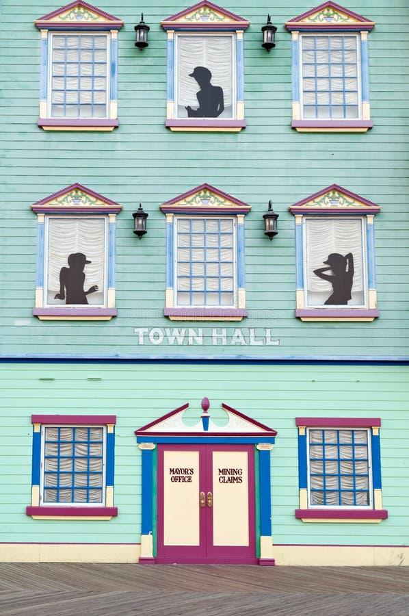 Fassade des wilden wilden Westkasinos in Atlantic City lizenzfreie stockfotos