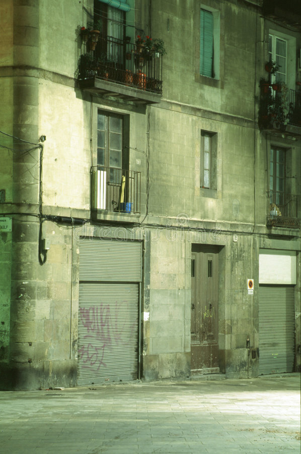 Fassade di Barcellona immagine stock libera da diritti