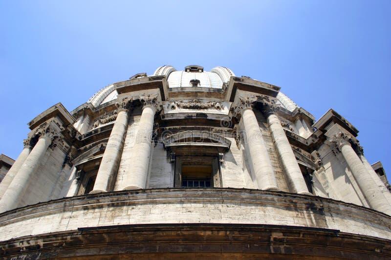 Fassade Kirche der San-Moise in Venedig stockbild