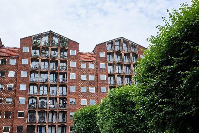 Wohnung Kopenhagen fassaden auf kopenhagen wohnung stockfoto bild giebel fassade