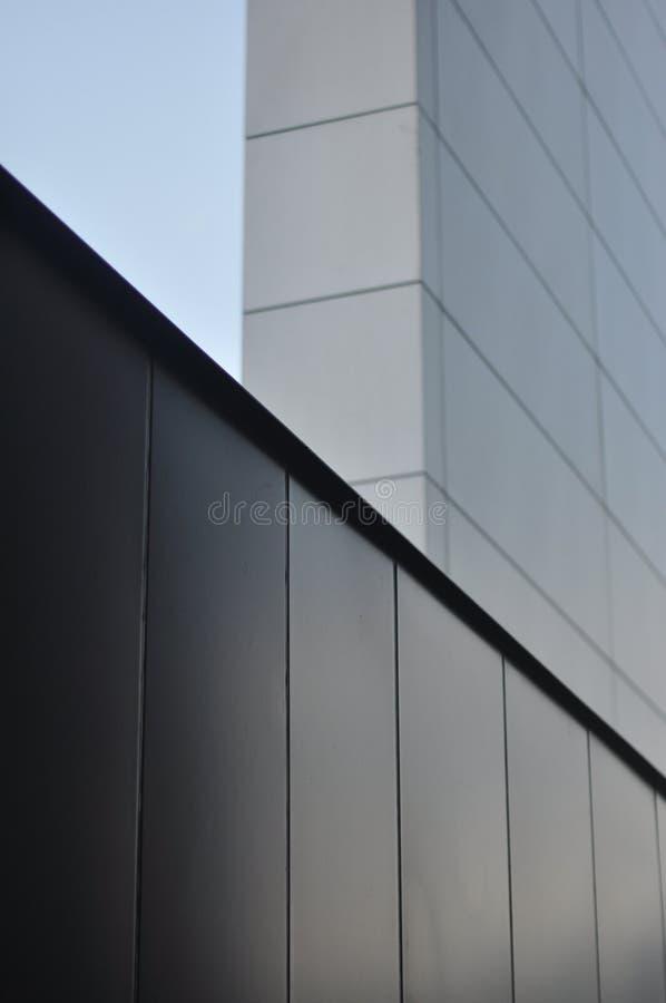 Fassadenrandzusammensetzung stockfoto