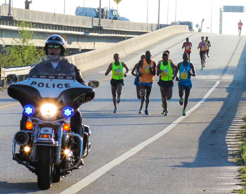 Fassbinder 2015 River Bridge Run, Charleston, Sc stockfotos