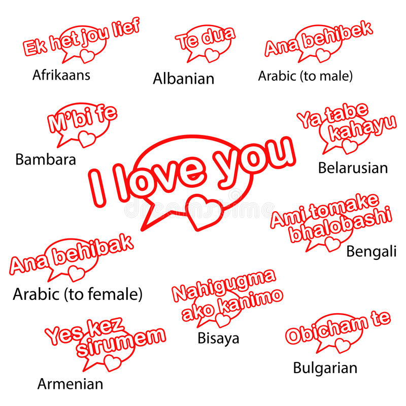 Liebe in mehreren Sprachen