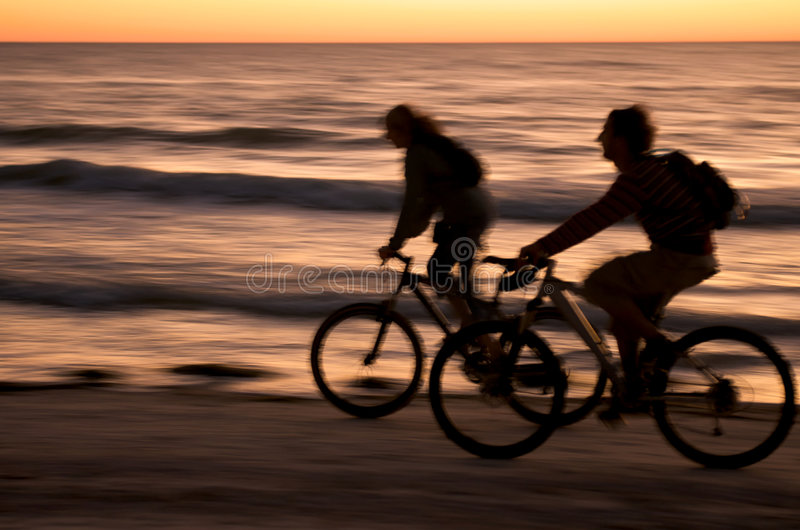 Download Fast at the beach stock image. Image of bicycle, marine - 7517675