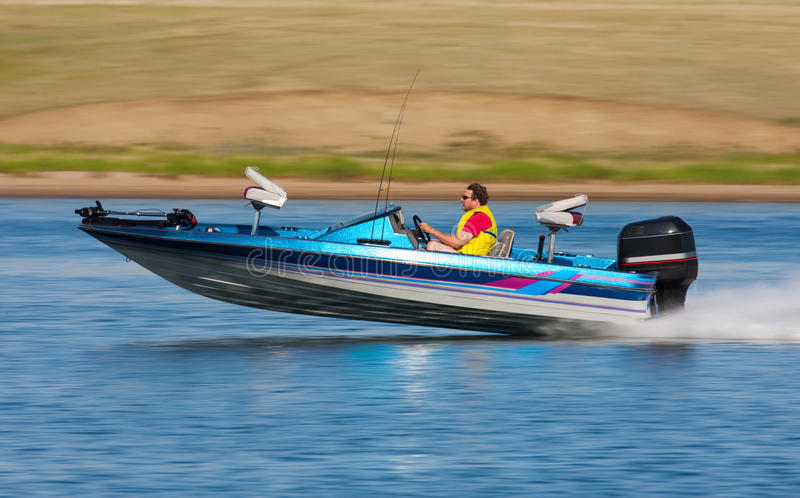Fast Boat royalty free stock photography