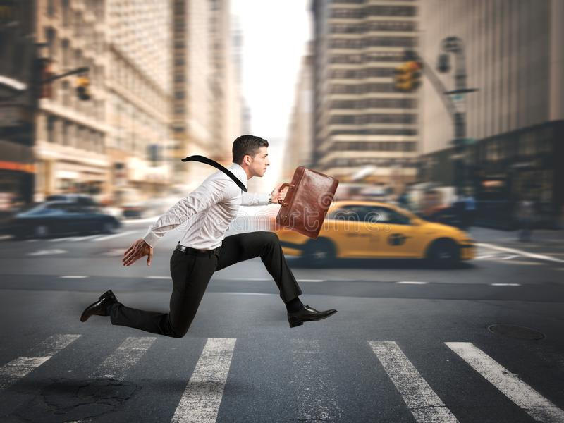 Fast business stock image