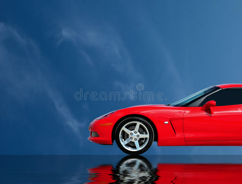 Fast Car Collection stock photo
