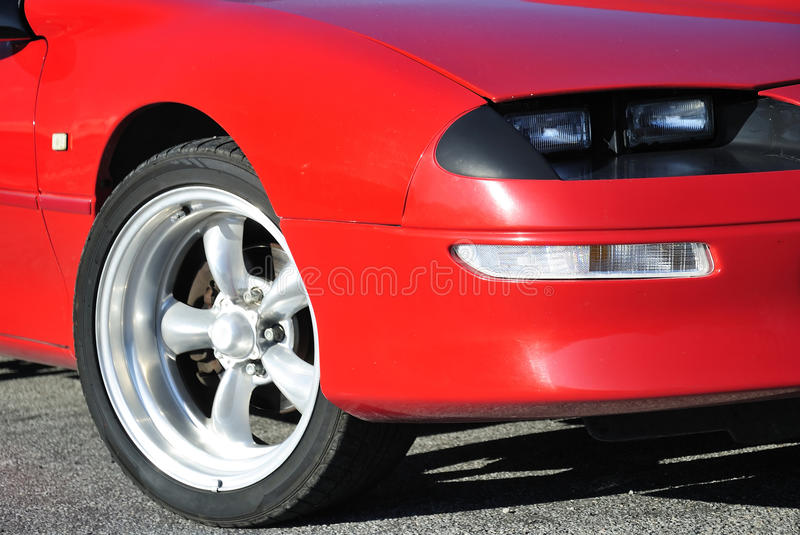 Fast car details royalty free stock images