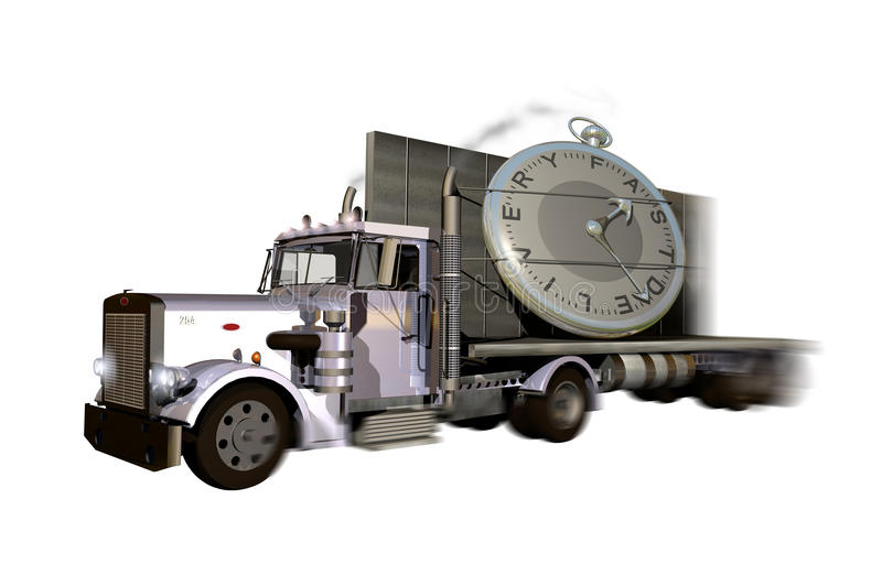 Fast Delivery stock illustration