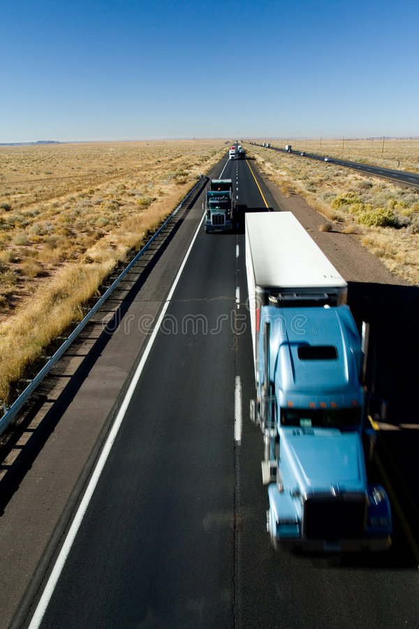Fast delivery (motion) royalty free stock photos