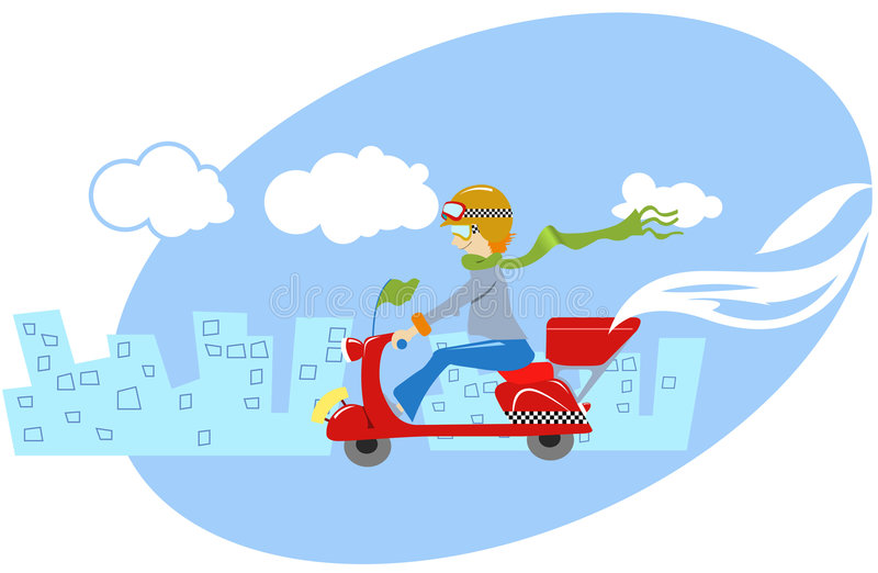 Download Fast Delivery Of Pizza Stock Photos - Image: 1954973