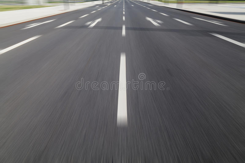 Fast drive on asphalt royalty free stock photos