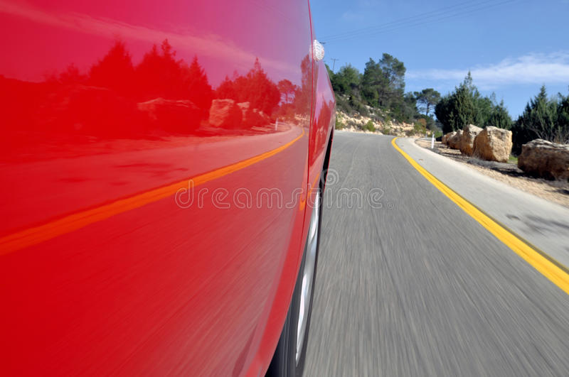 Fast driving royalty free stock image