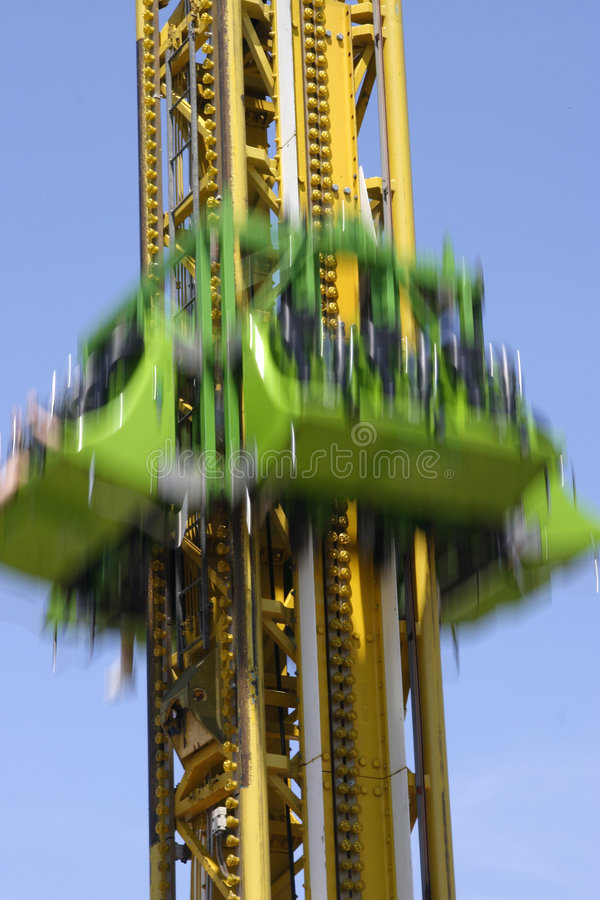 Download Fast drop stock photo. Image of ride, speed, fair, entertain - 882084