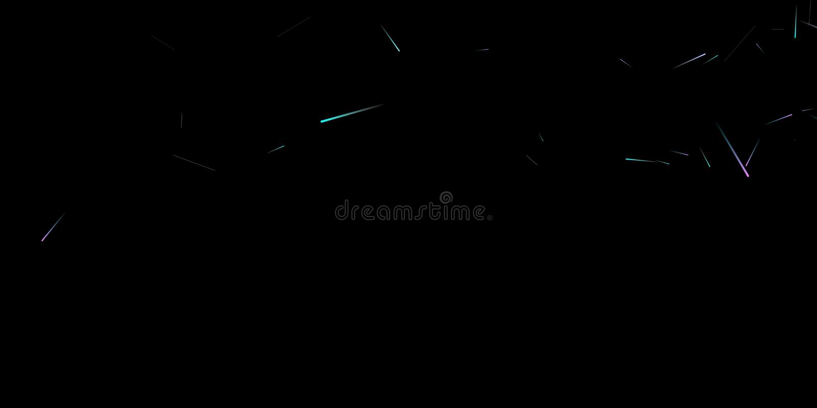 Fast Effect. Motion Neon Light Movement static. Fast Effect. Motion Neon Light Movement. Flow Light Trail. Neon Element Futuristic Design. Abstract Glowing Lines vector illustration