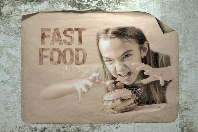 Fast food imagens de stock royalty free