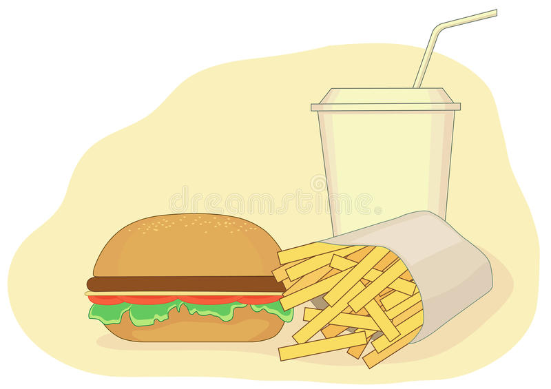 Download Fast Food Stock Photography - Image: 24232312
