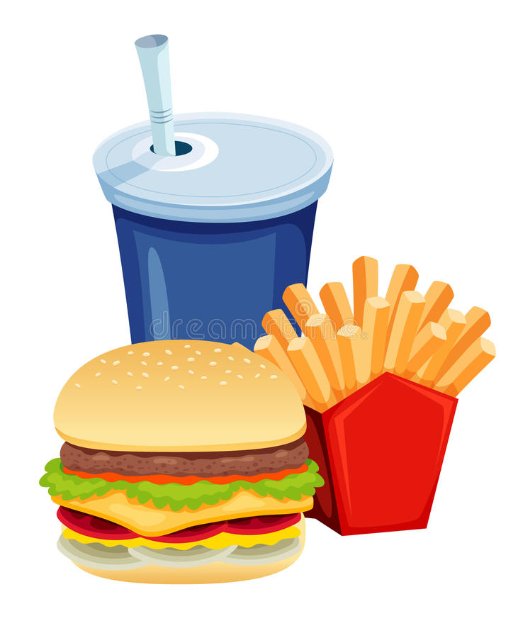 Free Fast Food Royalty Free Stock Photo - 26456875