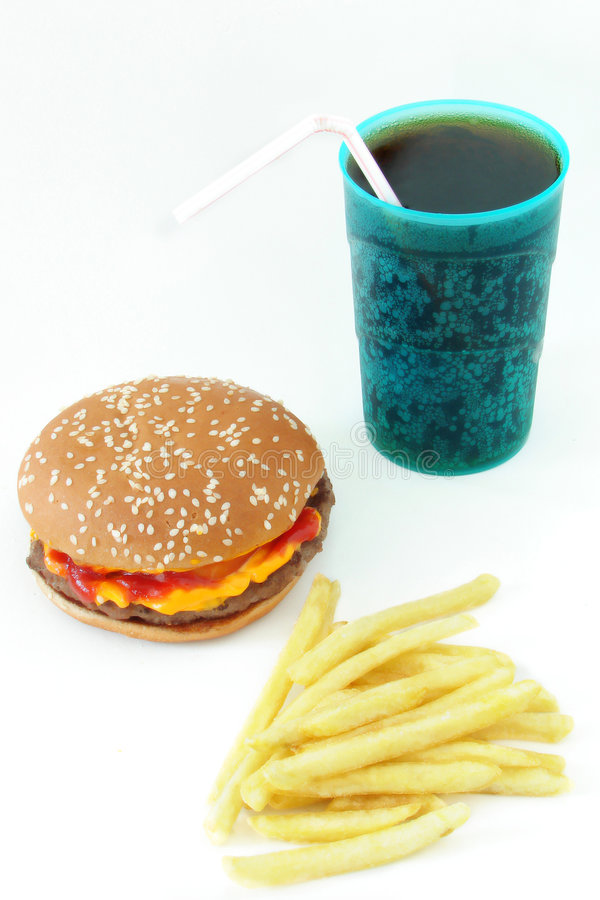Fast food imagens de stock