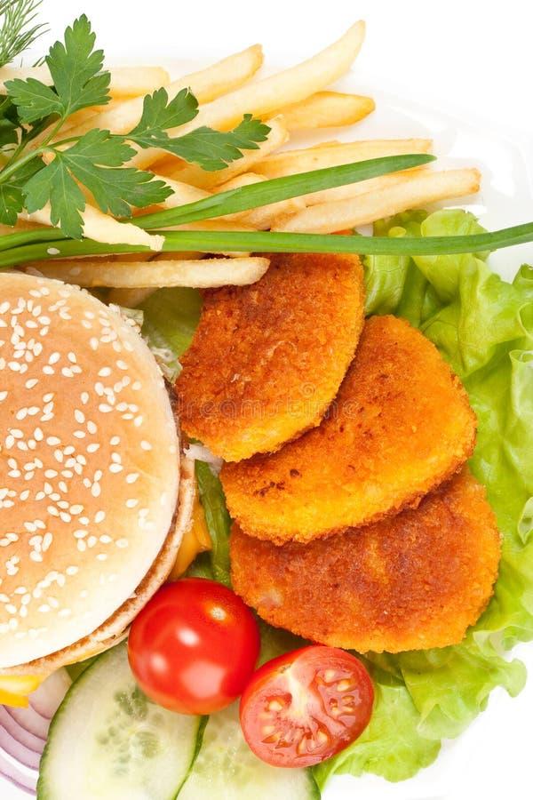 Fast food foto de stock royalty free