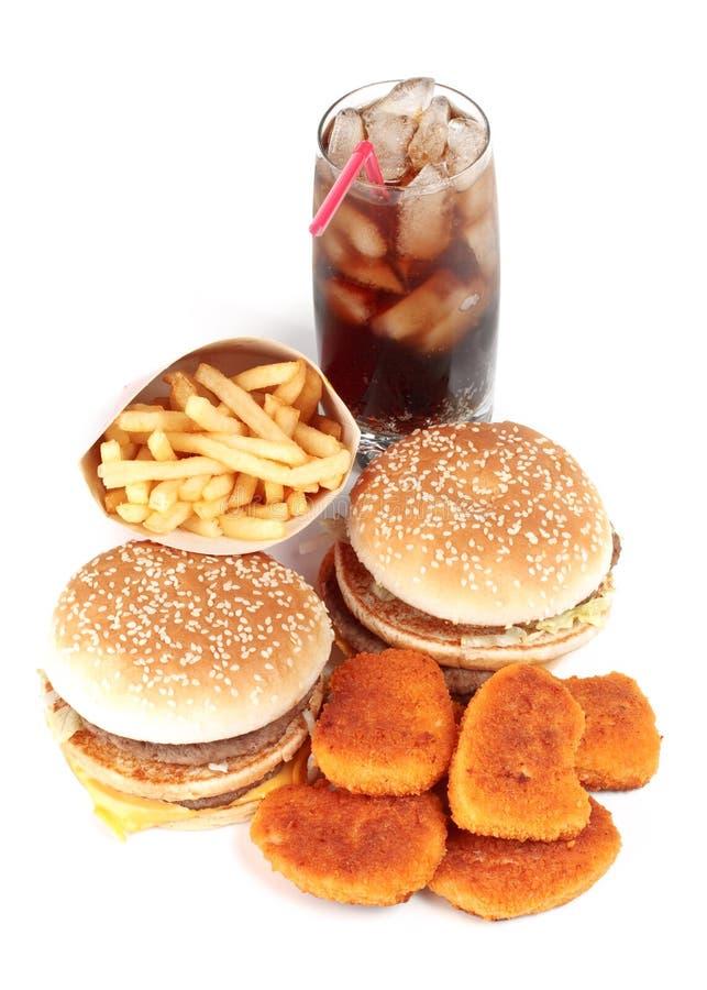 fast food obrazy stock